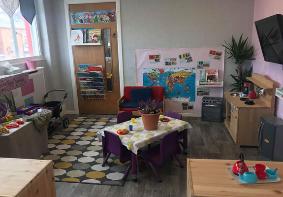 lions room for 2 - 3 yr olds at Starlight's Daycare Nursery