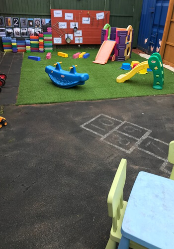 playground at Starlight's Daycare Nursery