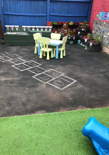 play outside at Starlight's Daycare Nursery