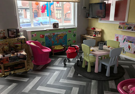 more lions room pics for 3 - 5 yr olds at Starlight's Daycare Nursery